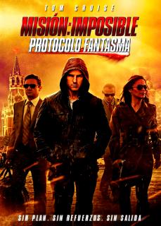 Carátula Misión Imposible 4: Protocolo Fantasma película dvdrip latino