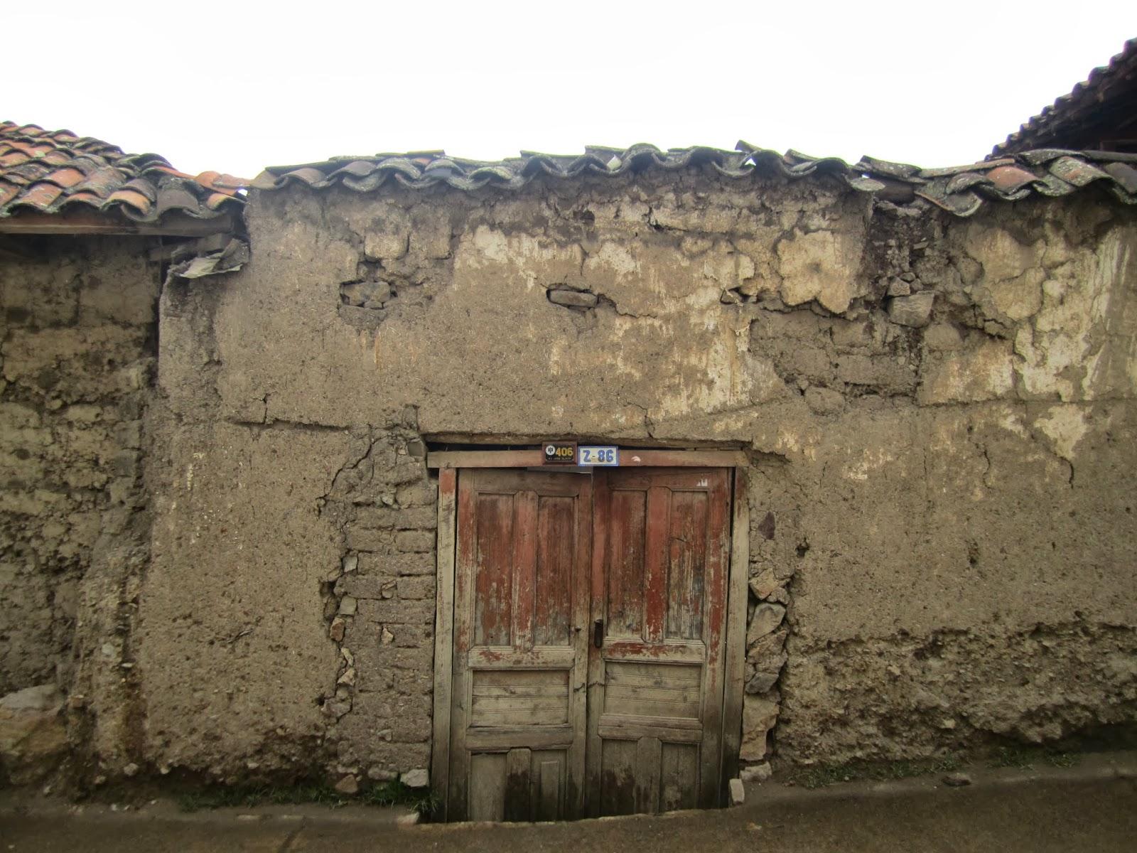 Recuerdos de mis viajes san luis y chacas parte i - Restaurar paredes viejas ...