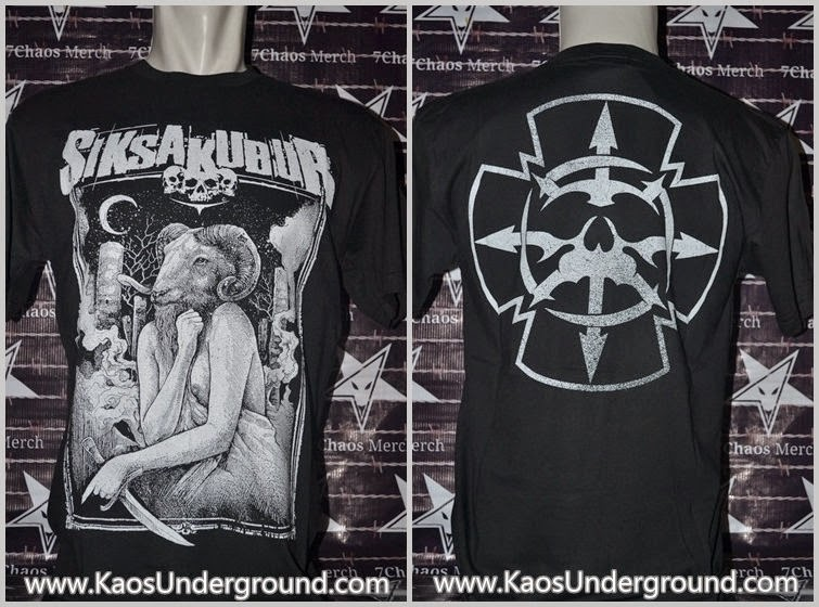 kaos band siksa kubur underground deathmetal
