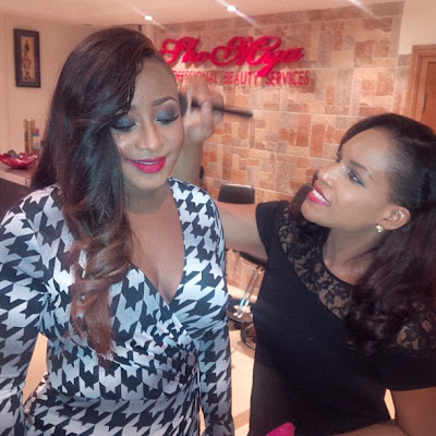 Checkout Ini Edo's stunning look to Nollywood celebrates Omotola event