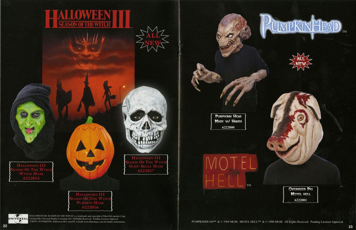 2012 Don Post Studios Catalog | Blood Curdling Blog of Monster Masks