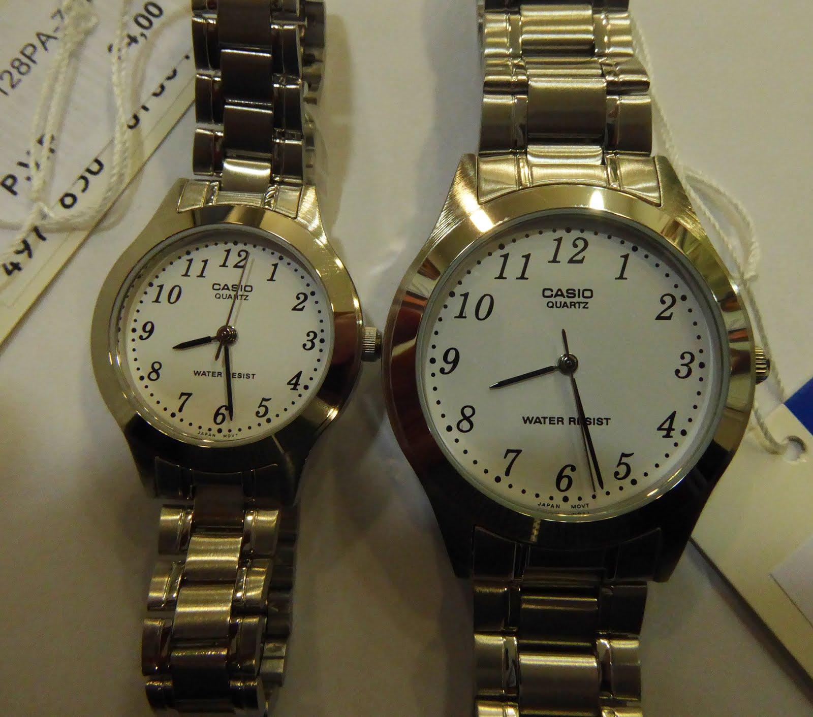 Relojes Casio, para hombre y mujer