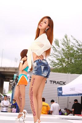 Seo Jin Ah Sexy Korean Race Queen