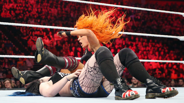 Paige vs. Becky Lynch