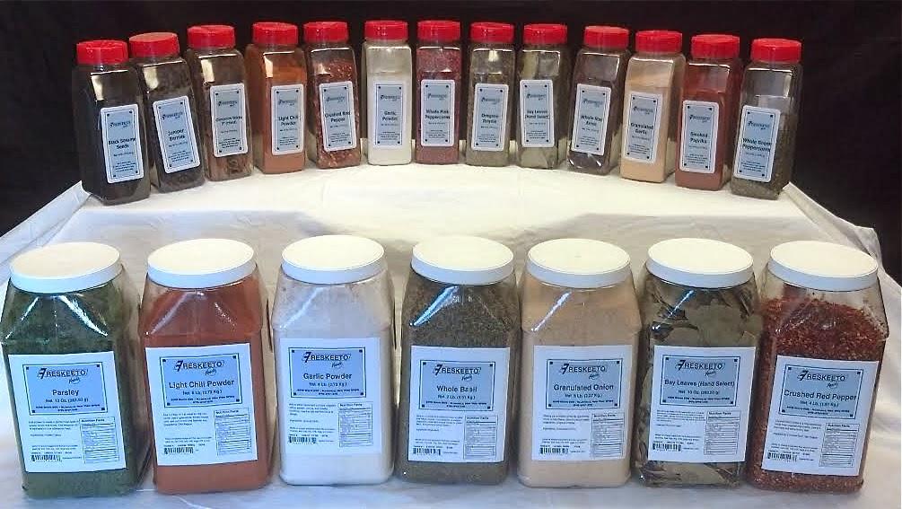 Freskeeto Brand Spices