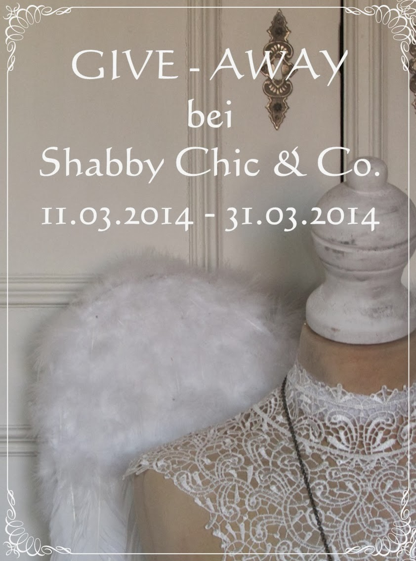 Give Away bei Shabby Chic & Co