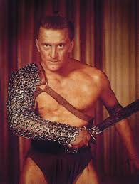 Krik Douglas som Spartacus
