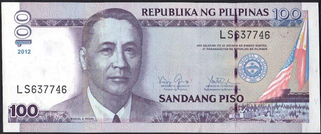 Philippines 100 Piso 2012 P# 194d
