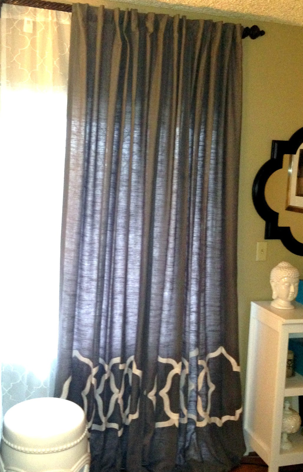Lately Design: TARGET'S THRESHOLD EMBROIDERED CURTAINS ROUND TWO