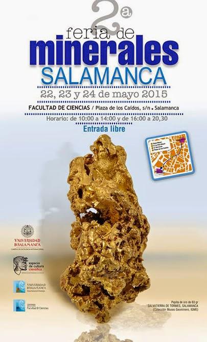 2ª FERIA DE MINERALES. SALAMANCA