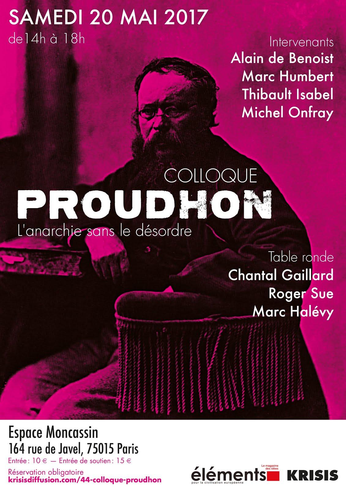 Découvrez les photos du colloque Proudhon