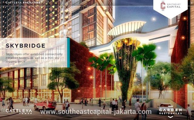 Southeast Capital Jakarta Skybridge