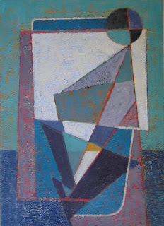 Cuadro abstracto. Acrílico sobre cartulina por ImaPerezAlbert