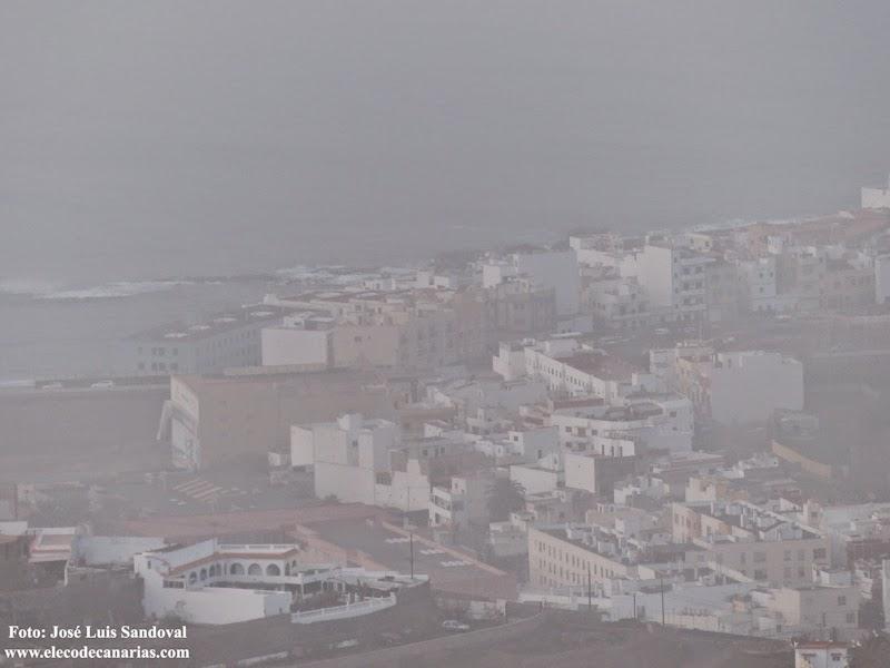 fotos calima Gran Canaria 10 diciembre 2015