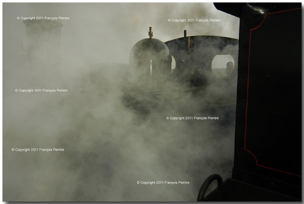 le p'tit train à vapeur