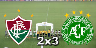 Fluminense 2x3 Chapecoense