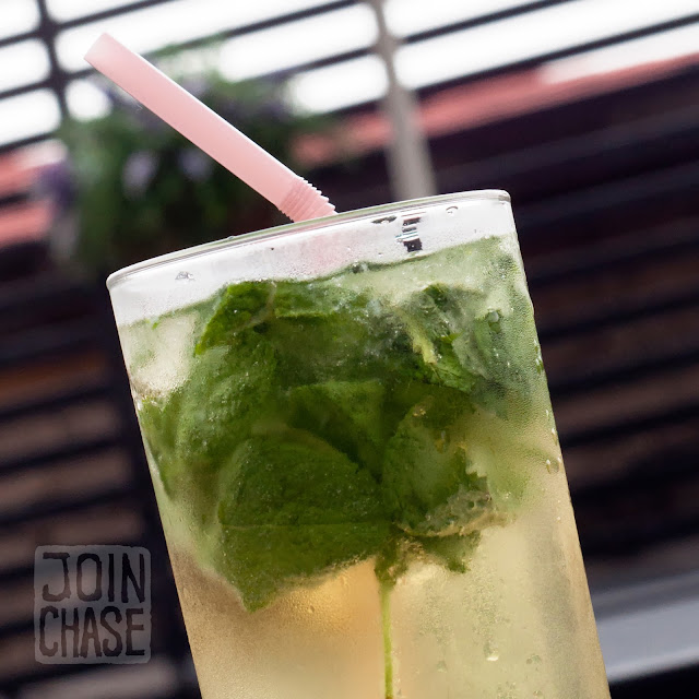 A fresh Mojito at Hillside Pub & Bistro in Itaewon, Seoul, South Korea.