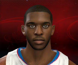 NBA 2K13 Chris Paul Cyber Face Patch