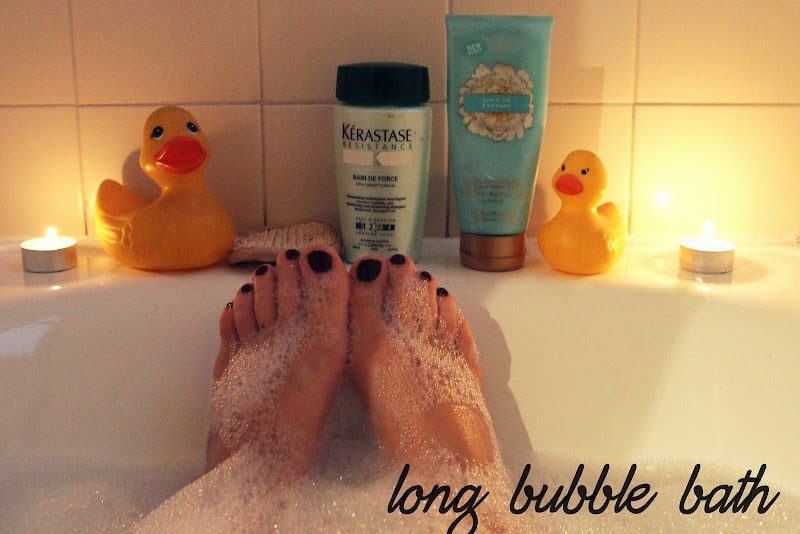 LIFESTYLE | KEEP CALM AND TAKE A LONG BUBBLE BATH