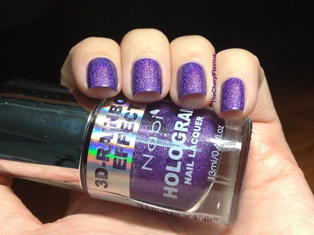 Nabi Holographic Dark Purple