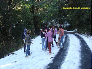 snowfall in kedar valley