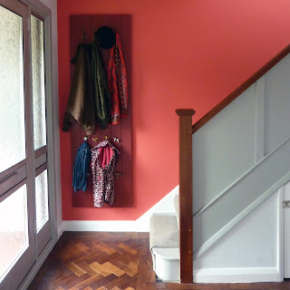 AFTER hall stairs and landing