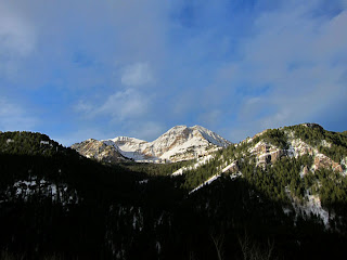 Mt Timpanogos from Pine Hollow - Alpine Loop