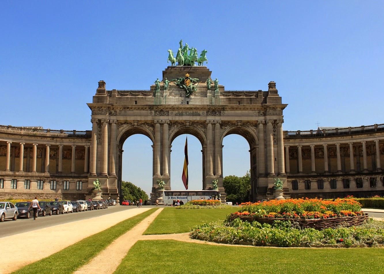 Parc du Cinquantenaire Bruselas