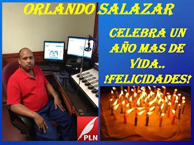 ORLANDO SALAZAR...CUMPLE UNO MAS