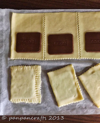 easiest pop tarts ever recipe on http://panpancrafts.blogspot.de/