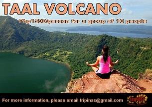 taal volcano trekking
