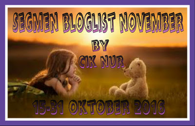 SEGMEN:BLOGLIST NOVEMBER by CIK NUR