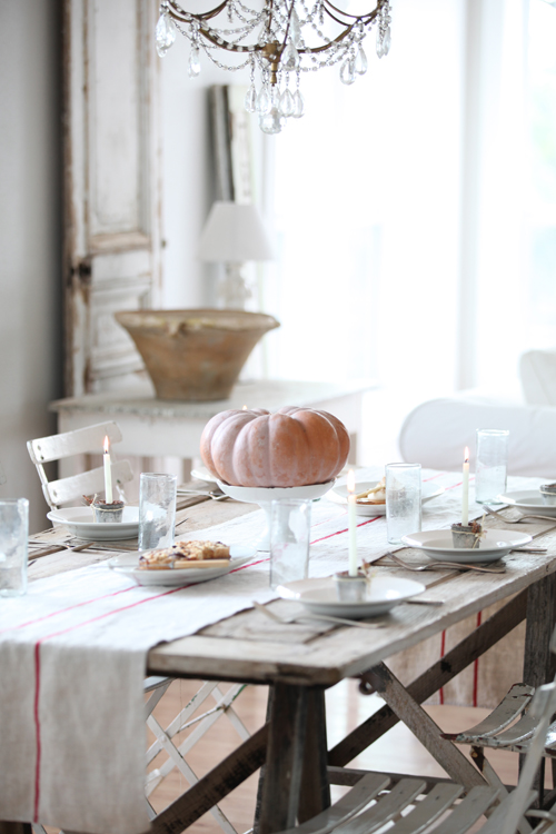 shabby chic decor table