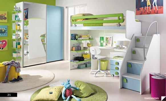 gambar desain interior minimalis desain kamar anak anak