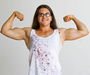 View the Profile of Female Bodybuilder Iron Liberty