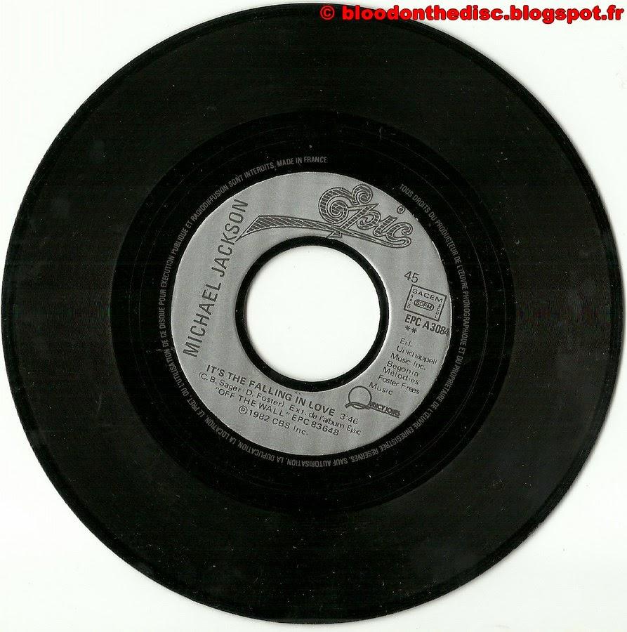 Billie Jean 45T Side 2