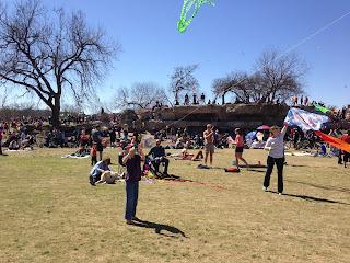 Zilker Park kite day