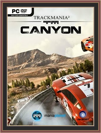 Trackmania 2 Canyon Cover Art