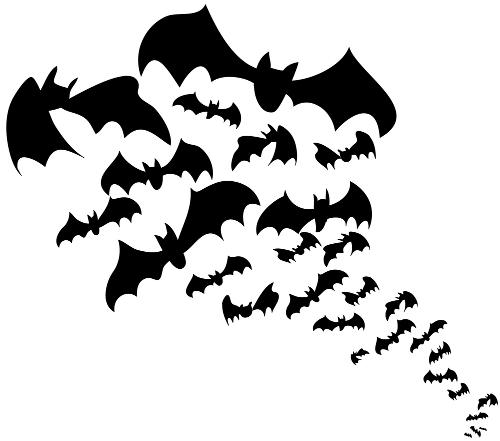 Manualidades octubre 2012 - Murcielagos para halloween ...