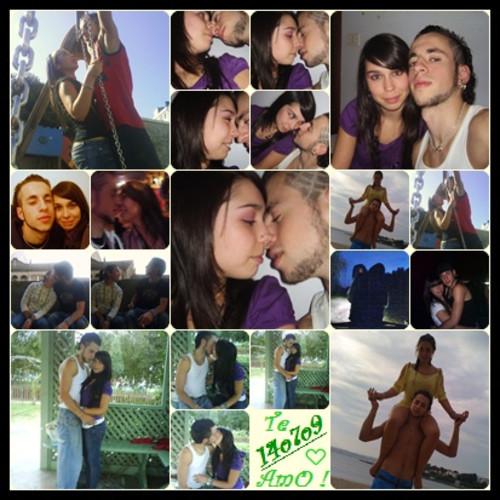 Con ideas creativas c mo hacer un collage de fotos amor - Como hacer un collage de fotos a mano ...