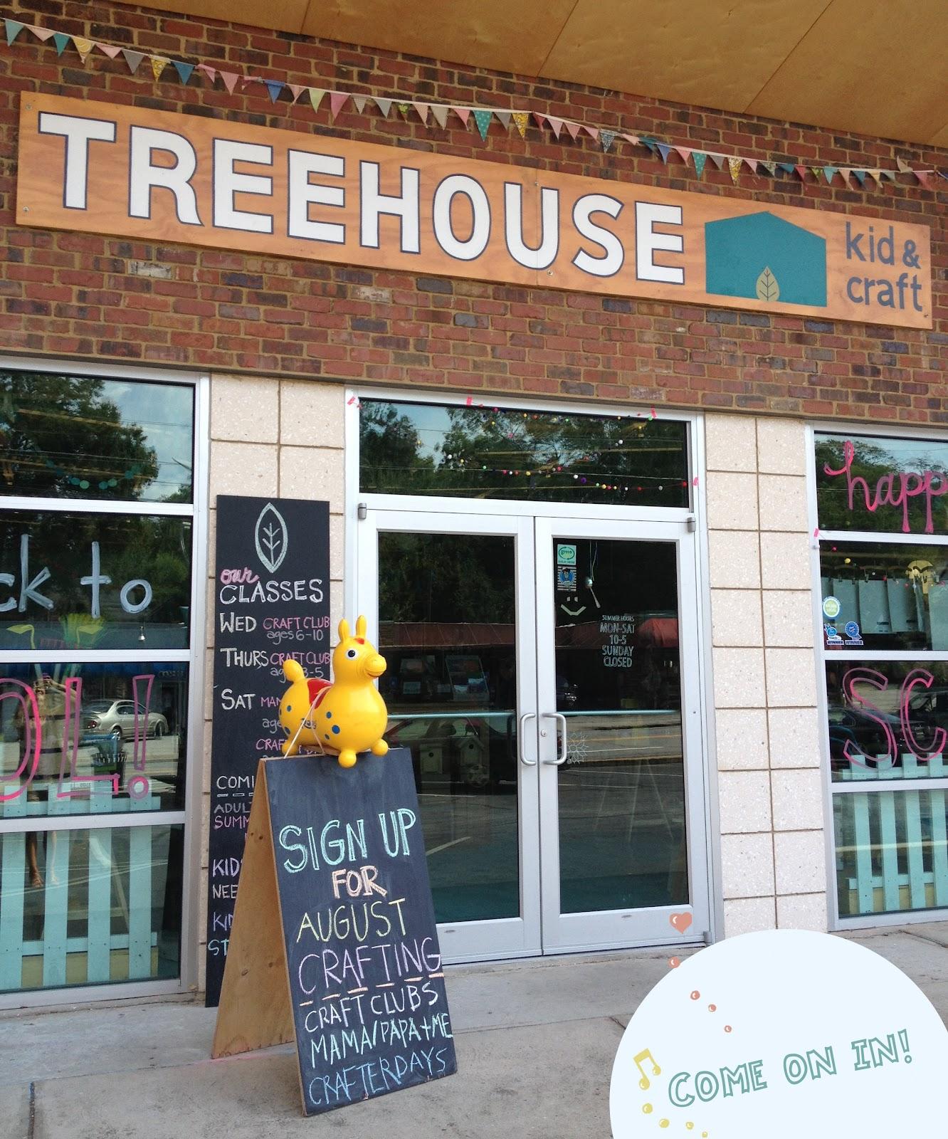 blabla kids: A Visit to Treehouse Kid & Craft - Athens, Ga