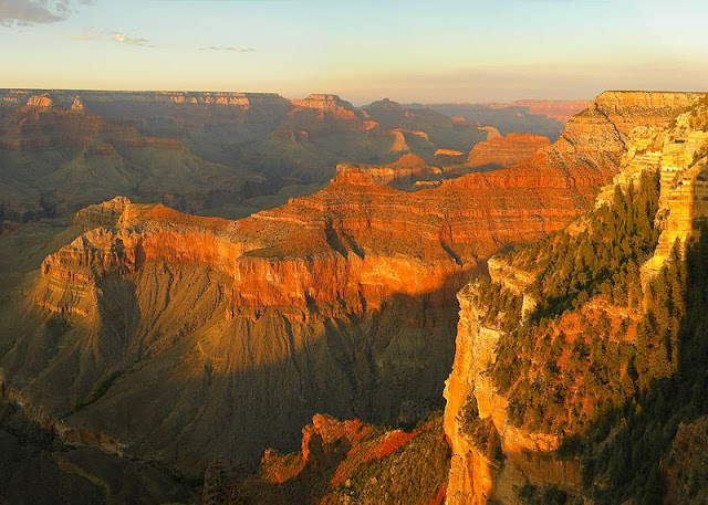 sunset at Grand Canyon (Arizona, USA) seen from Yavapai Point Foto: Tobias Alt