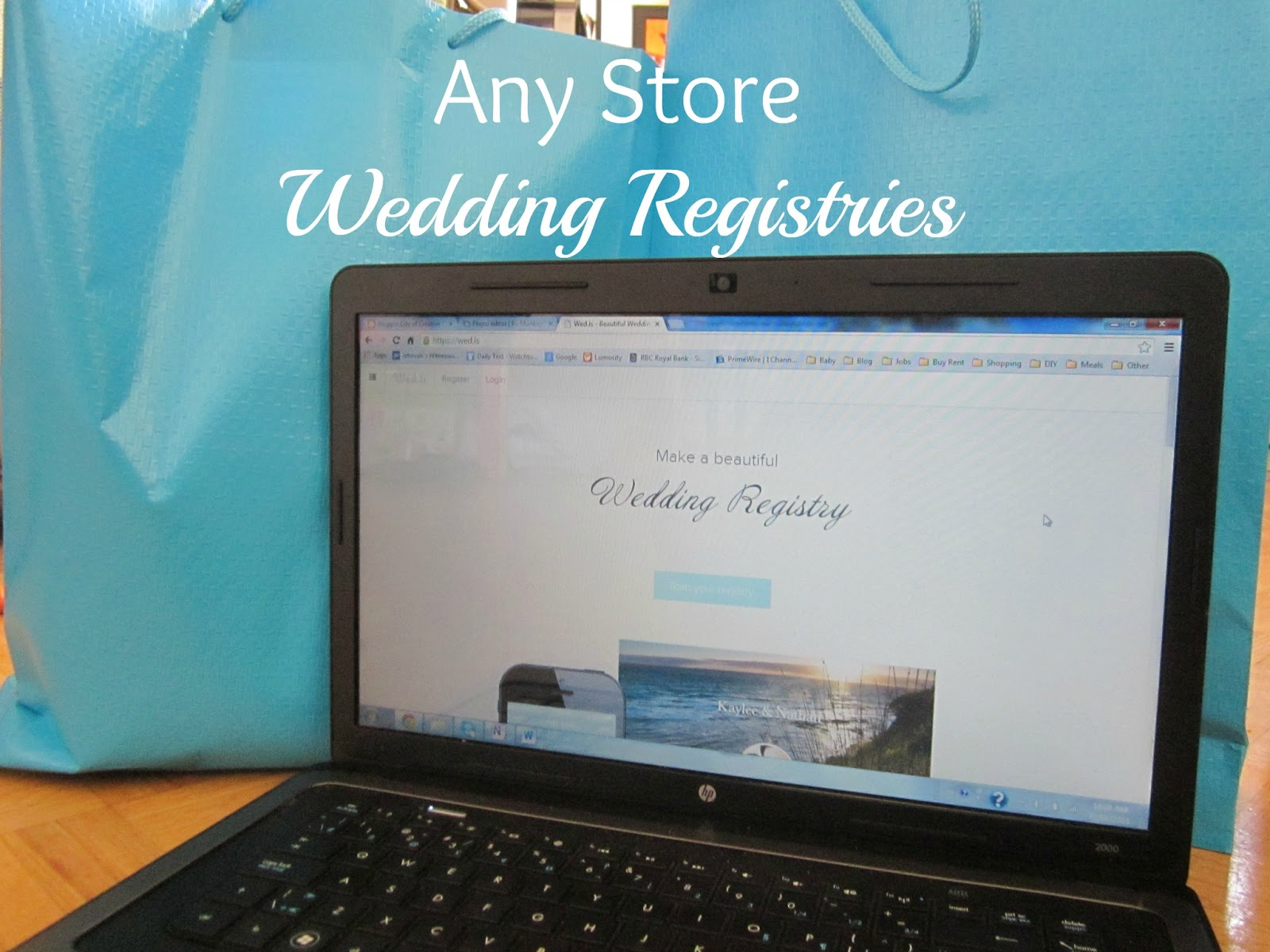 any store wedding registries
