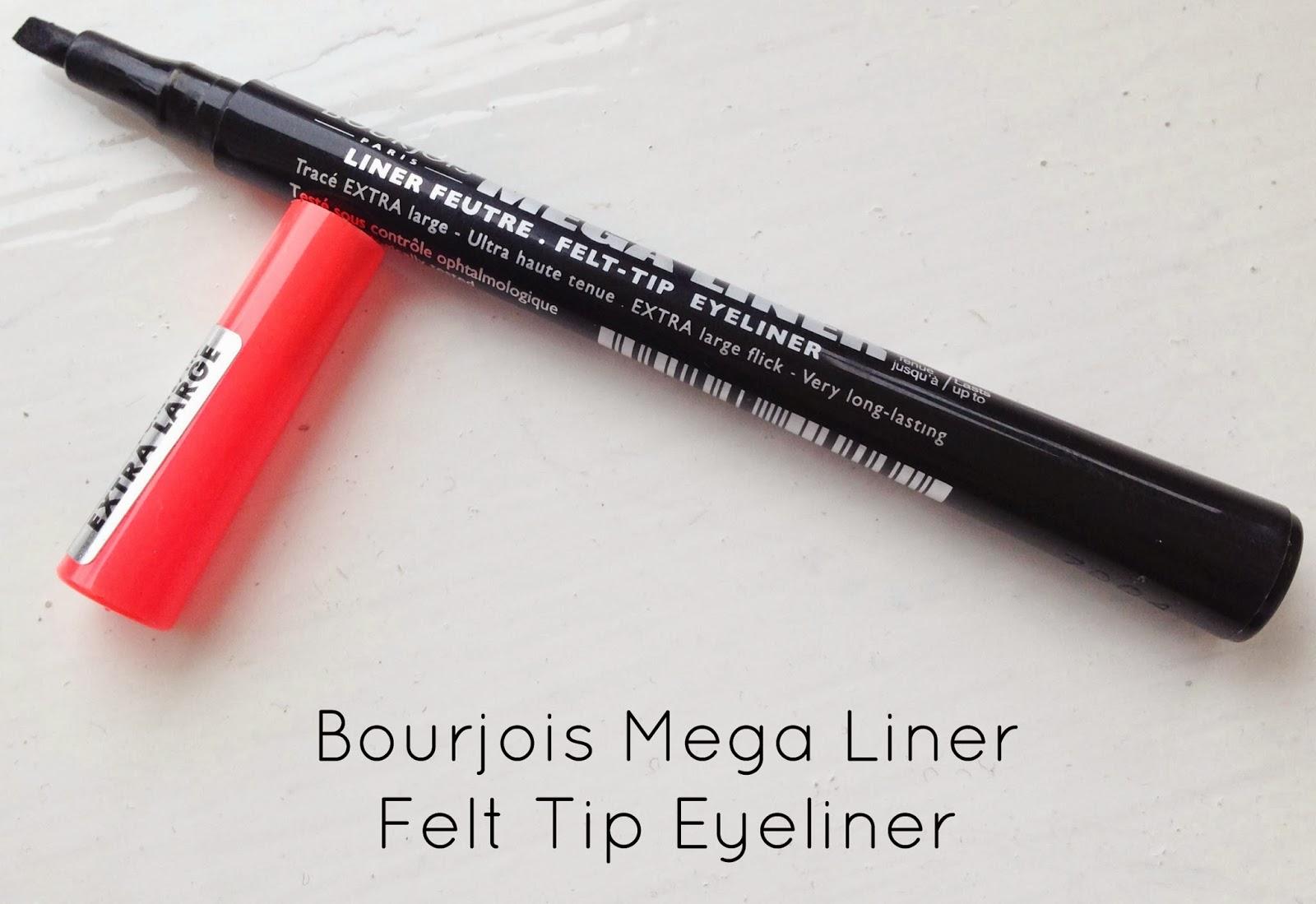 Bourjois Mega Liner Felt Tip Eyeliner