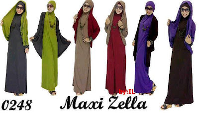 Maxi Hijab Kode Zella 0248