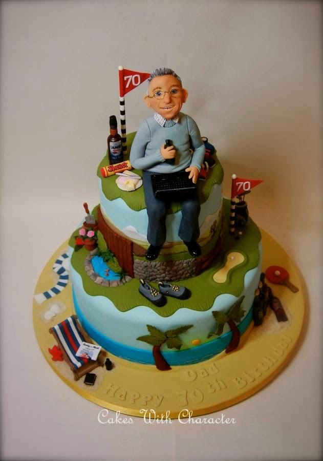 Elenasprinciples 70th Birthday Cakes Ideas All Over The World