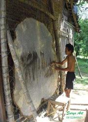 Bahan Wayang Kulit kerbau asli
