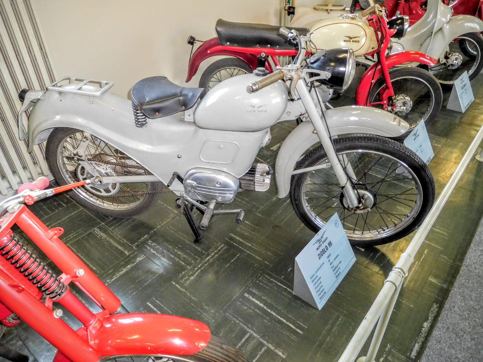 Tigho NYDucati: 1953 Moto Guzzi Zigolo 98