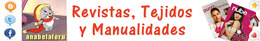Revistas: Tejidos y Manualidades