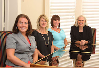 Kristy Bailey (l) did her internship at the Conroe law firm of Jo Miller.(r)